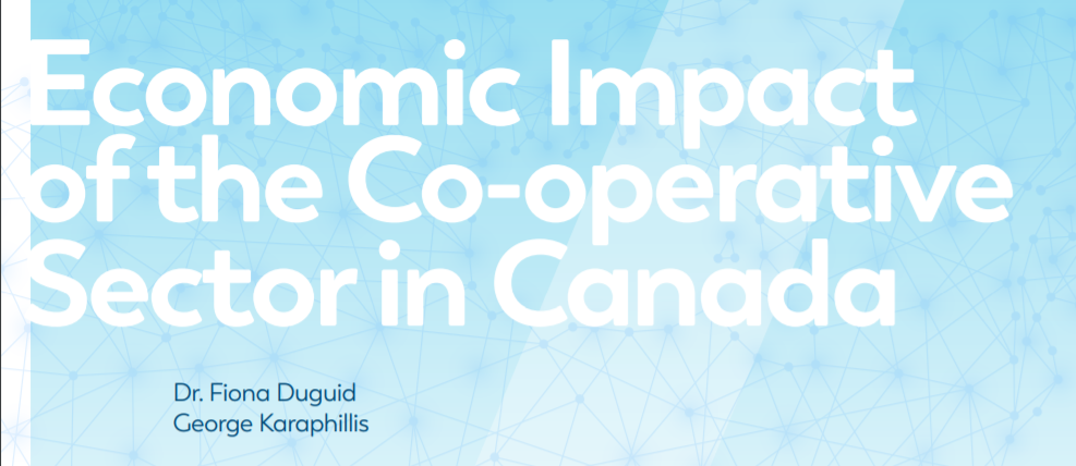 Release of study on the economic impact of the co-operative sector in Canada in 2015